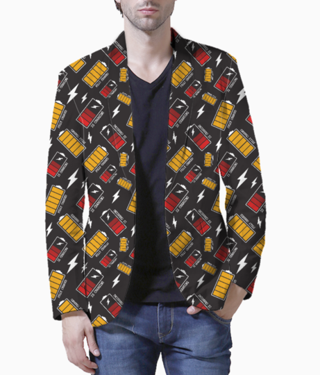 Battery charging blazer front