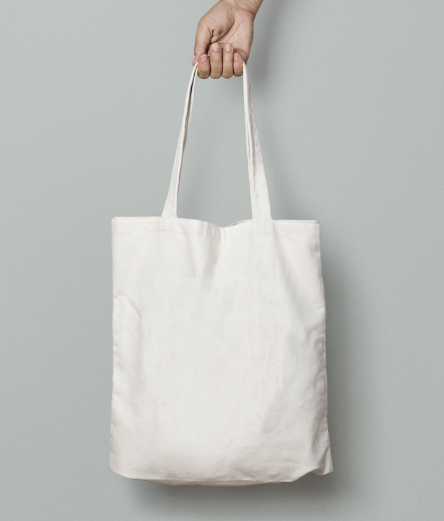 Rust tote bag front