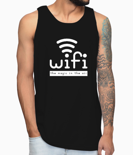 Wifi magic vest front