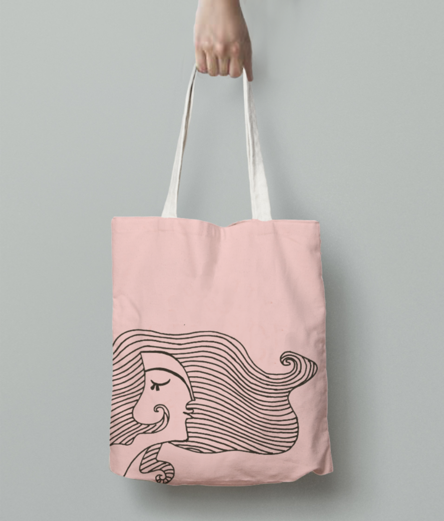 Untitled 1 tote bag back