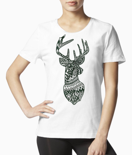 Stag tee front