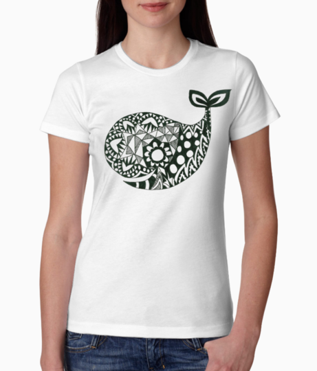 Whale tee front