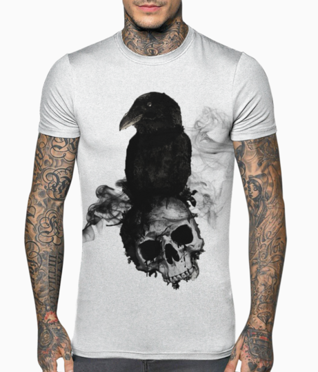 Crow t shirt front