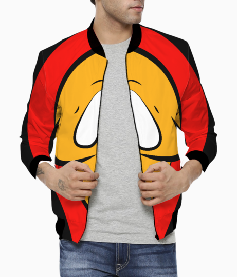 Ghostface bomber front