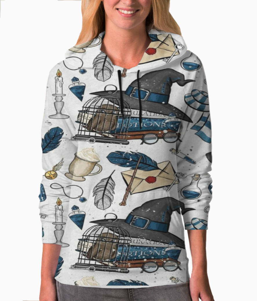 Wizards and magic sweatshirt front