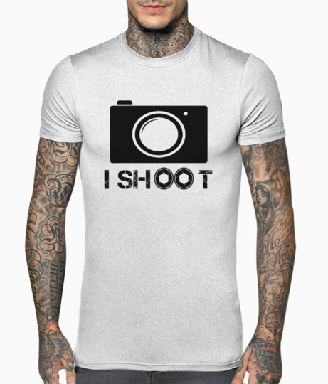 Photographer t shirt front