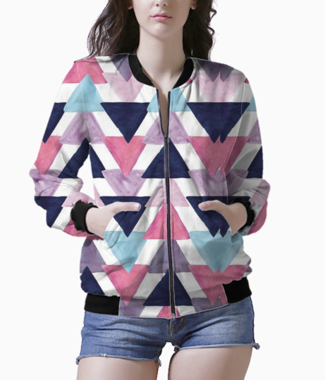 Triangle bomber front