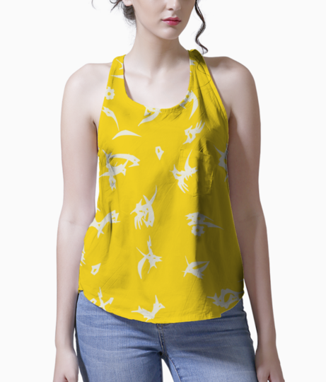 Yellow tank front