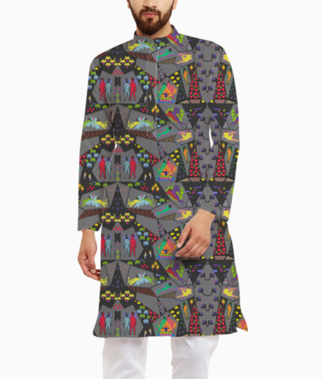 Love is love1 kurta front
