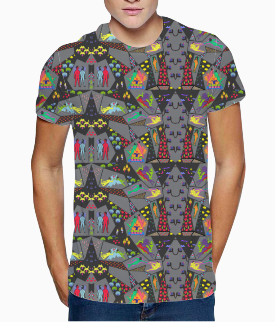 Love is love1 t shirt front