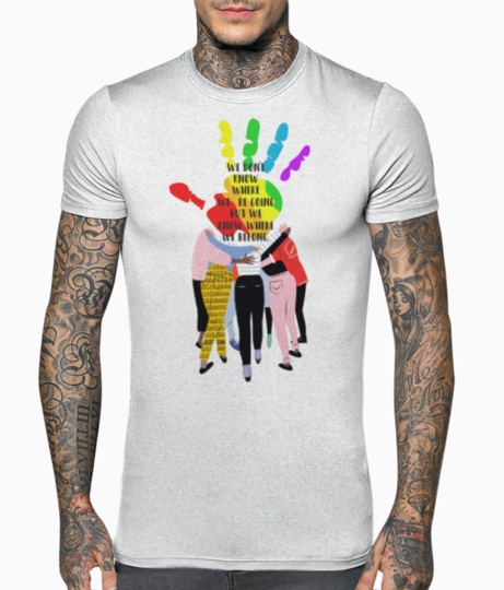 Love is love design 2 t shirt front