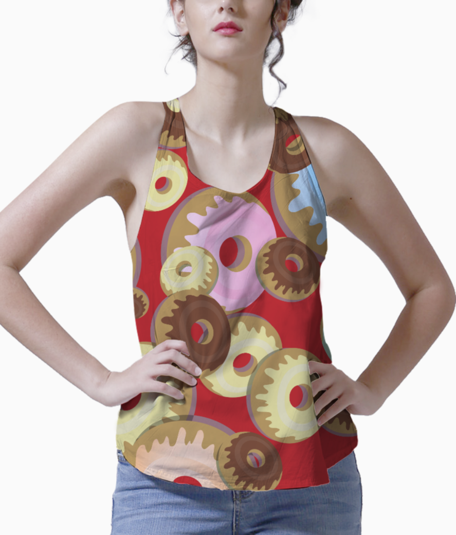 Donuts tank front