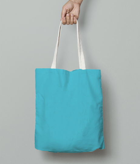 Lady bug tote bag front