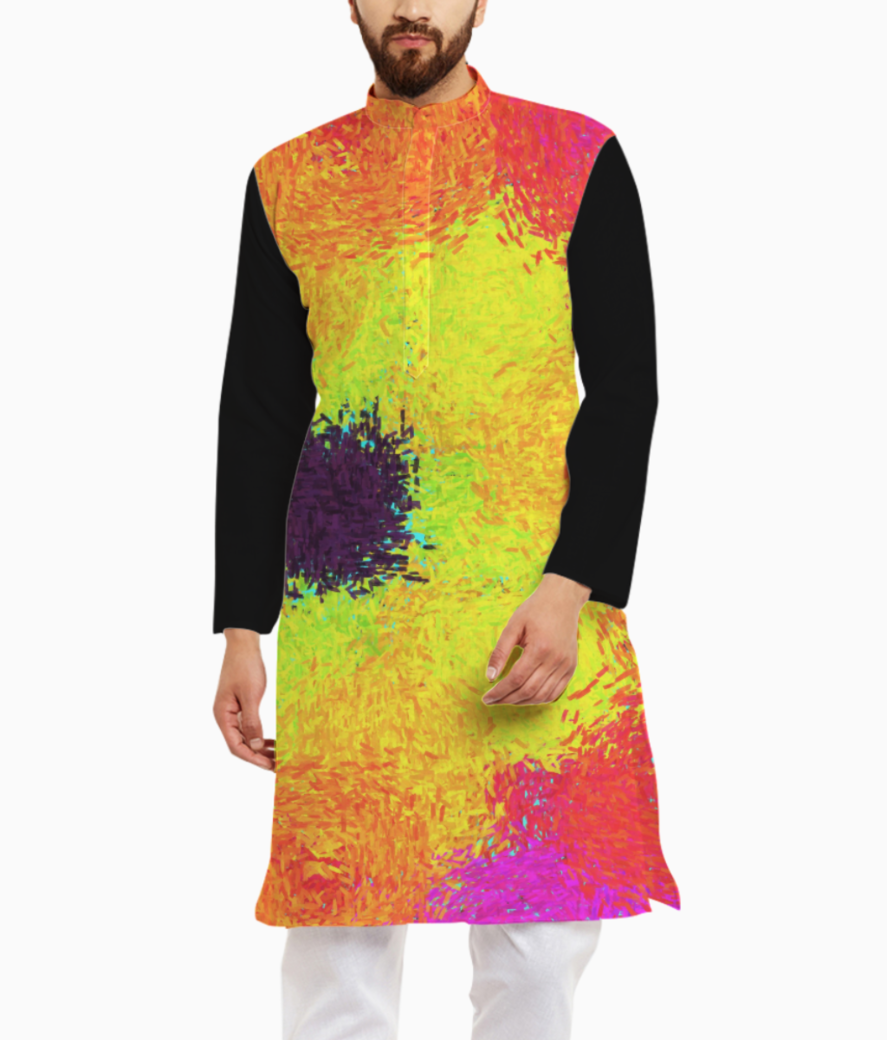 Color kurta front
