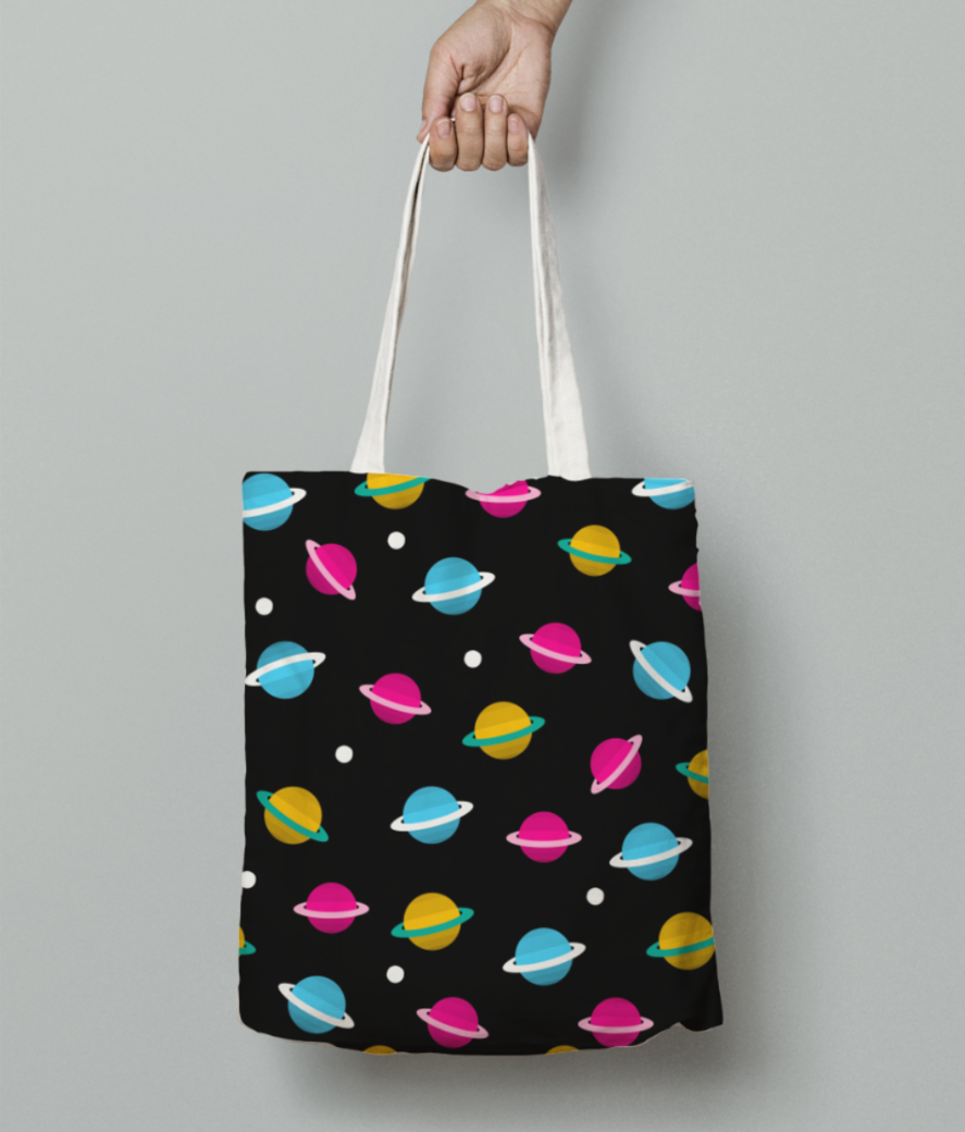 Loading tote bag front