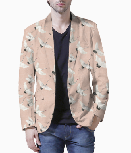 Flying bird blazer front