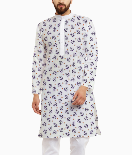 Anchor kurta front