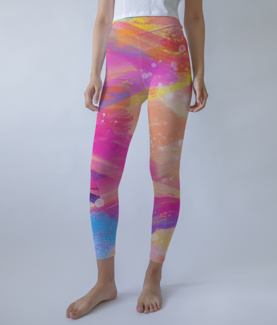 Splash leggings front