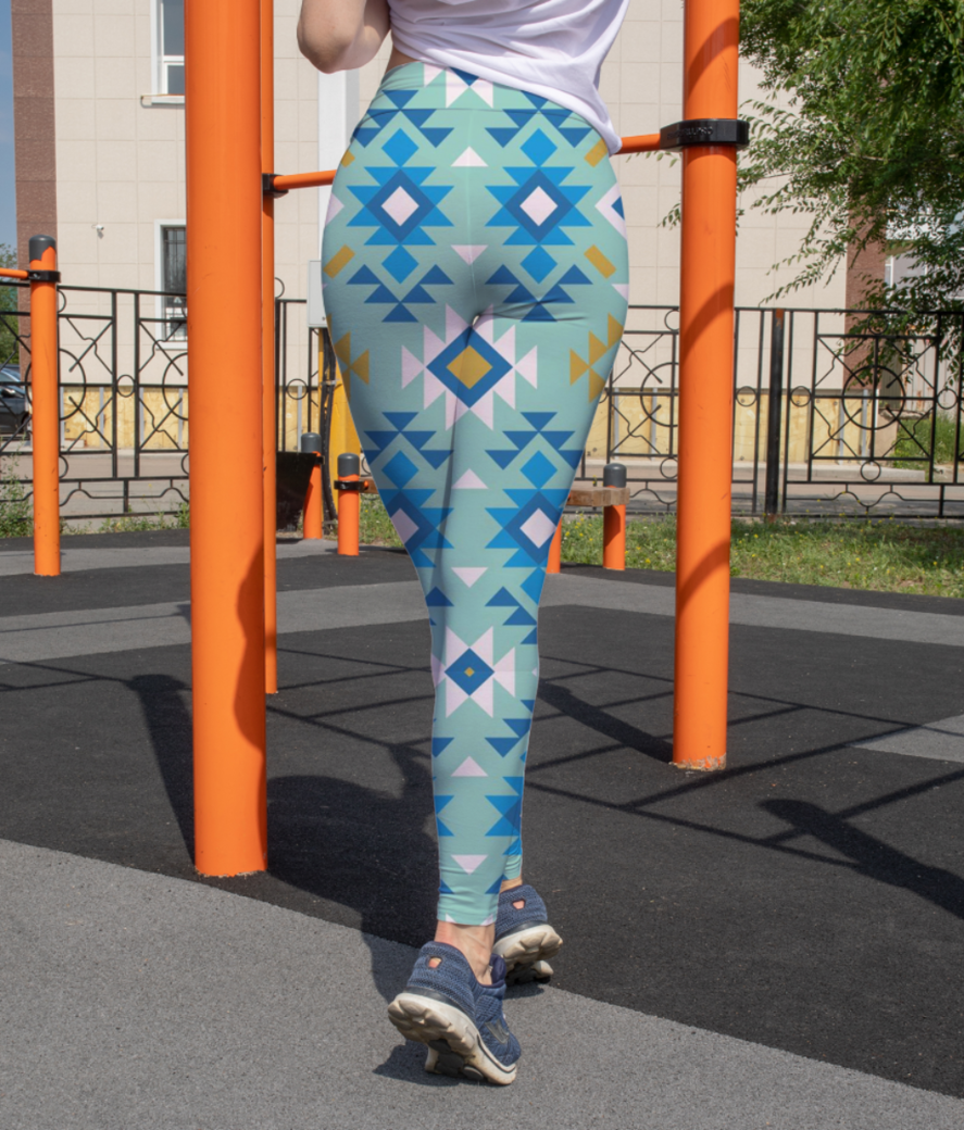 Illusion leggings back