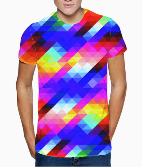 Pattern t shirt front