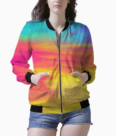 Colour shades bomber front