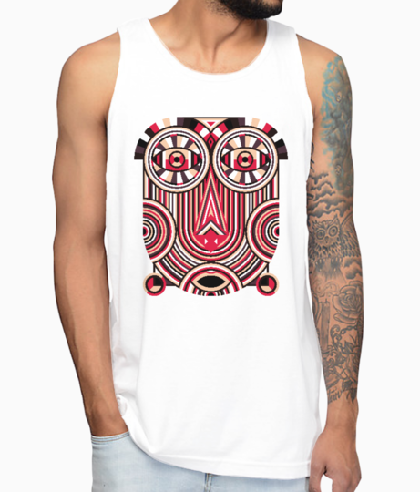 Abstract ancient vest front