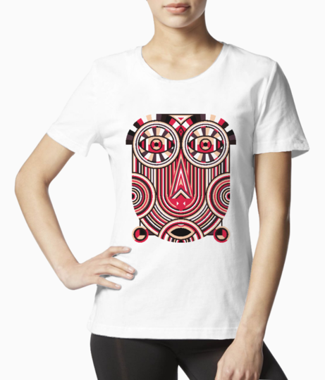 Abstract ancient tee front