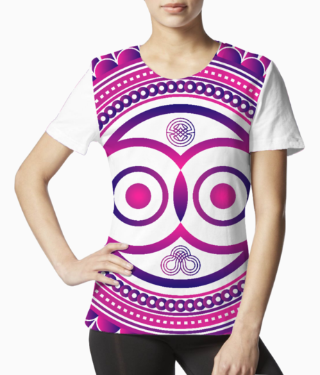 Owl zentangle tee front