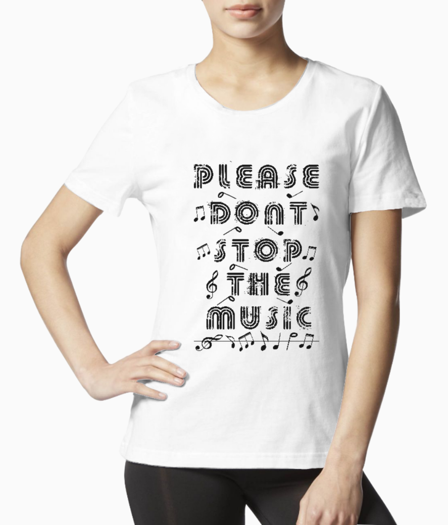 Music tee front