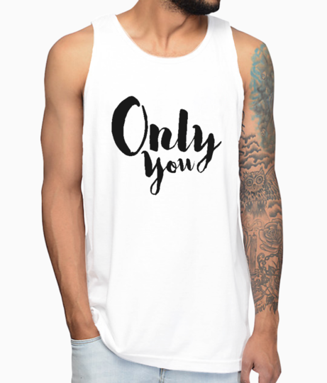Only you vest front