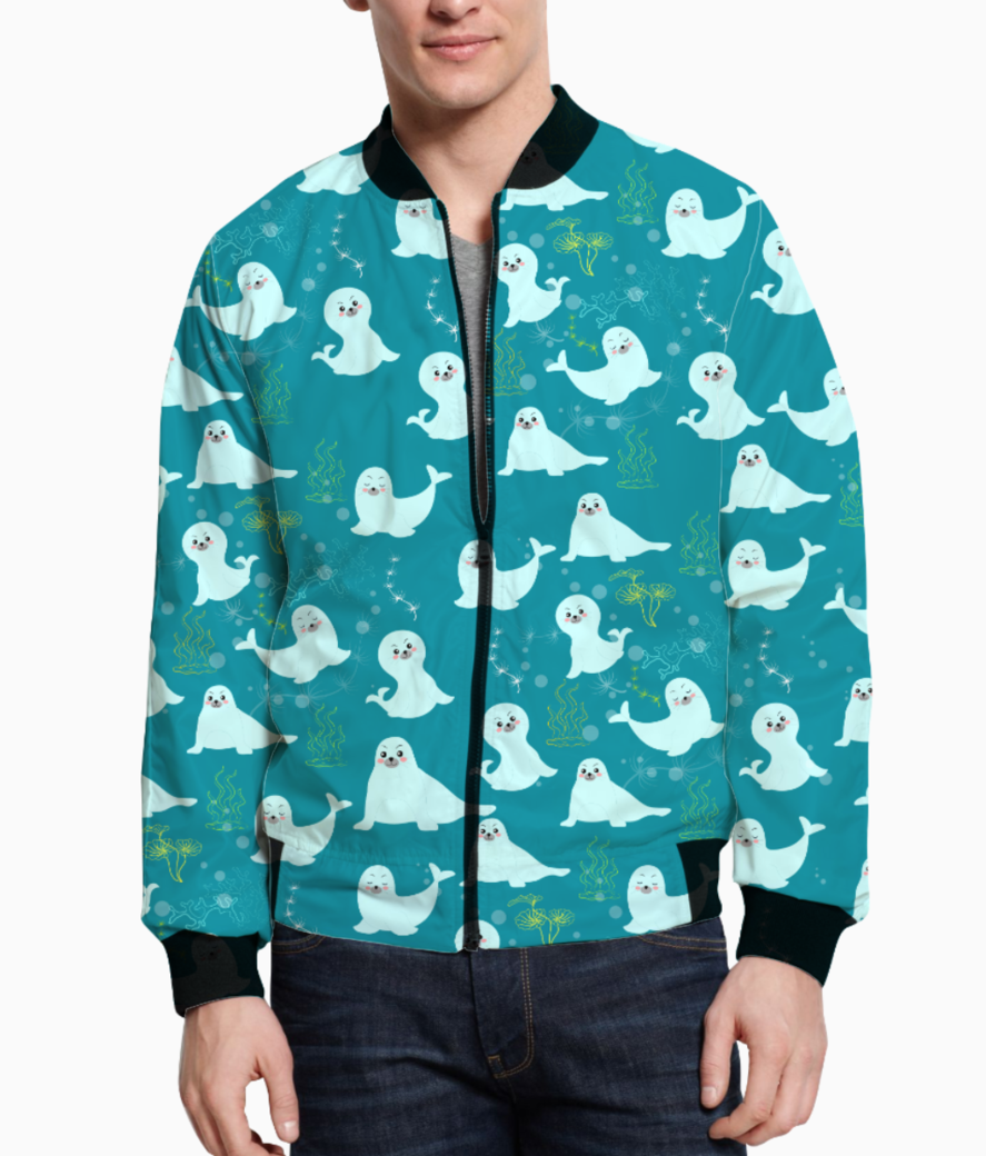 Seagulls bomber front