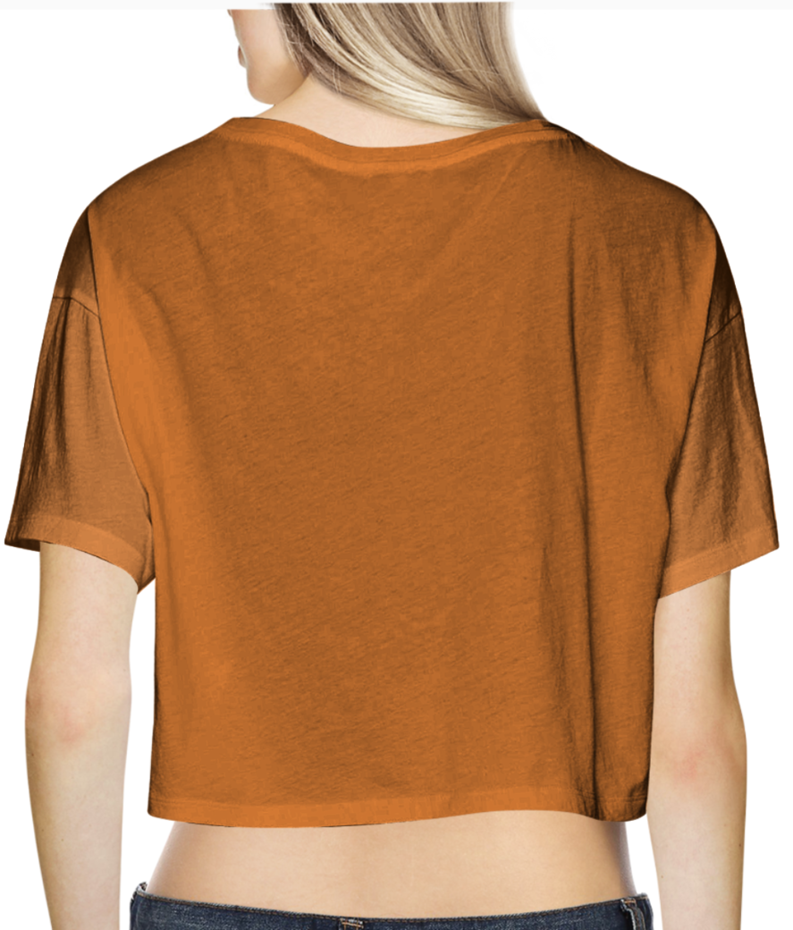 5 crop top back