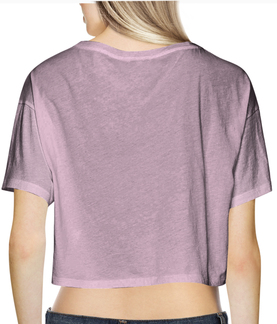 6 crop top back