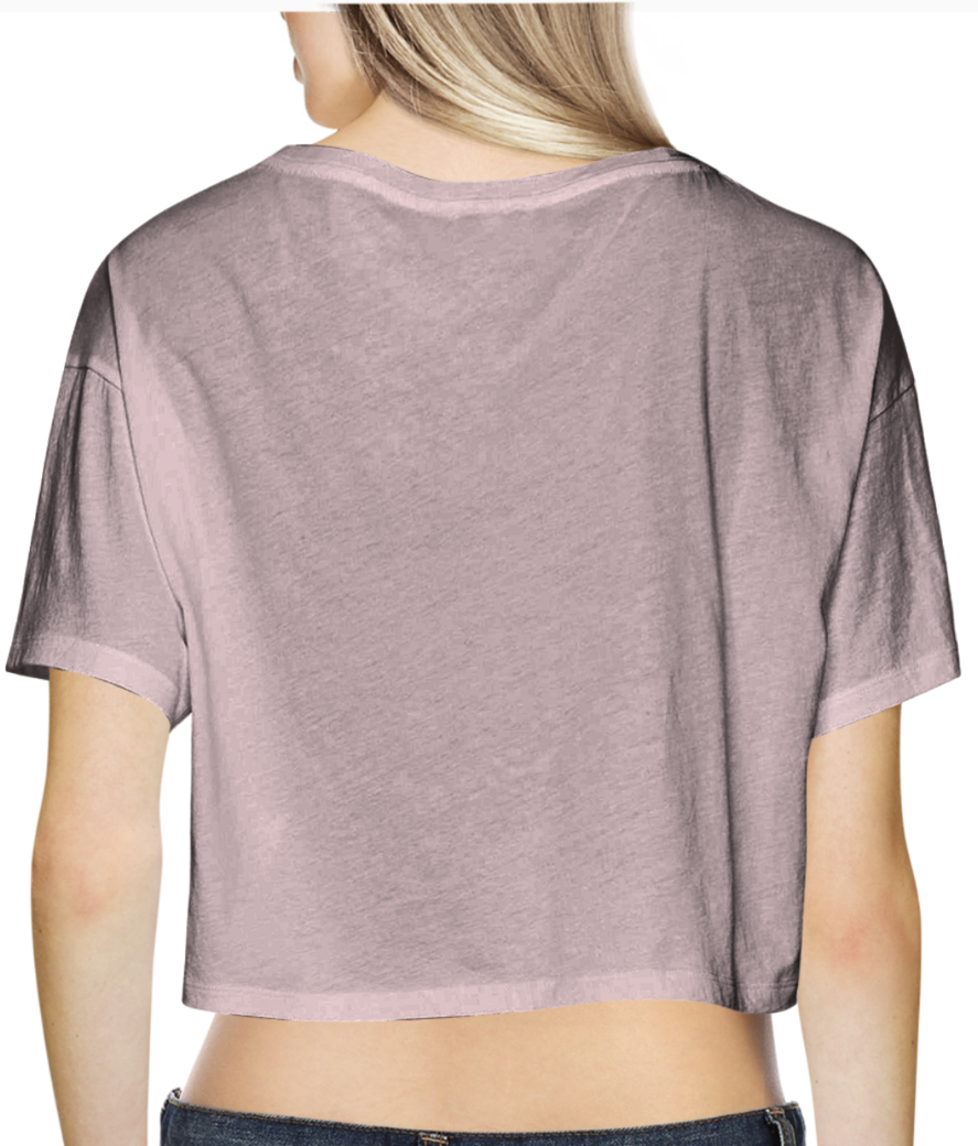 39 crop top back