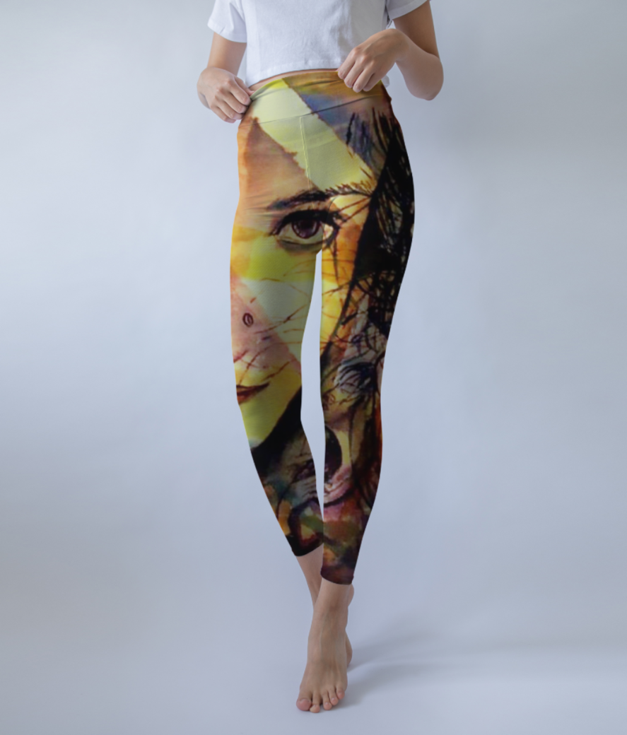 Sleep 3500 leggings front