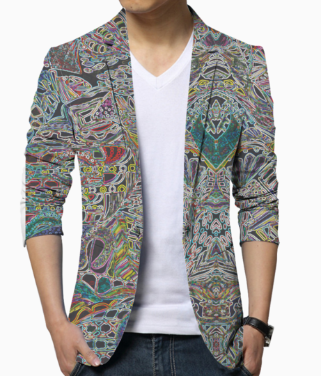 Under world blazer front