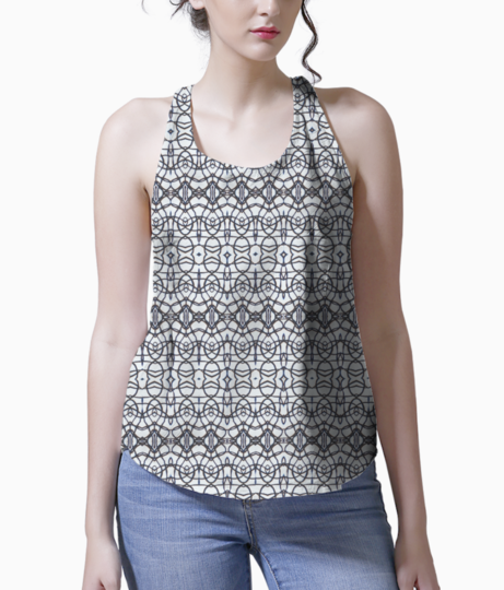 Stringy vibes tank front