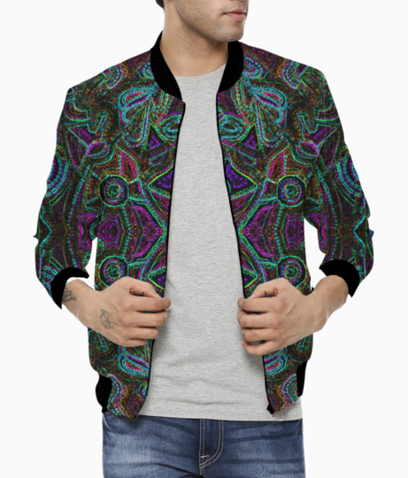 Dotted bomber front