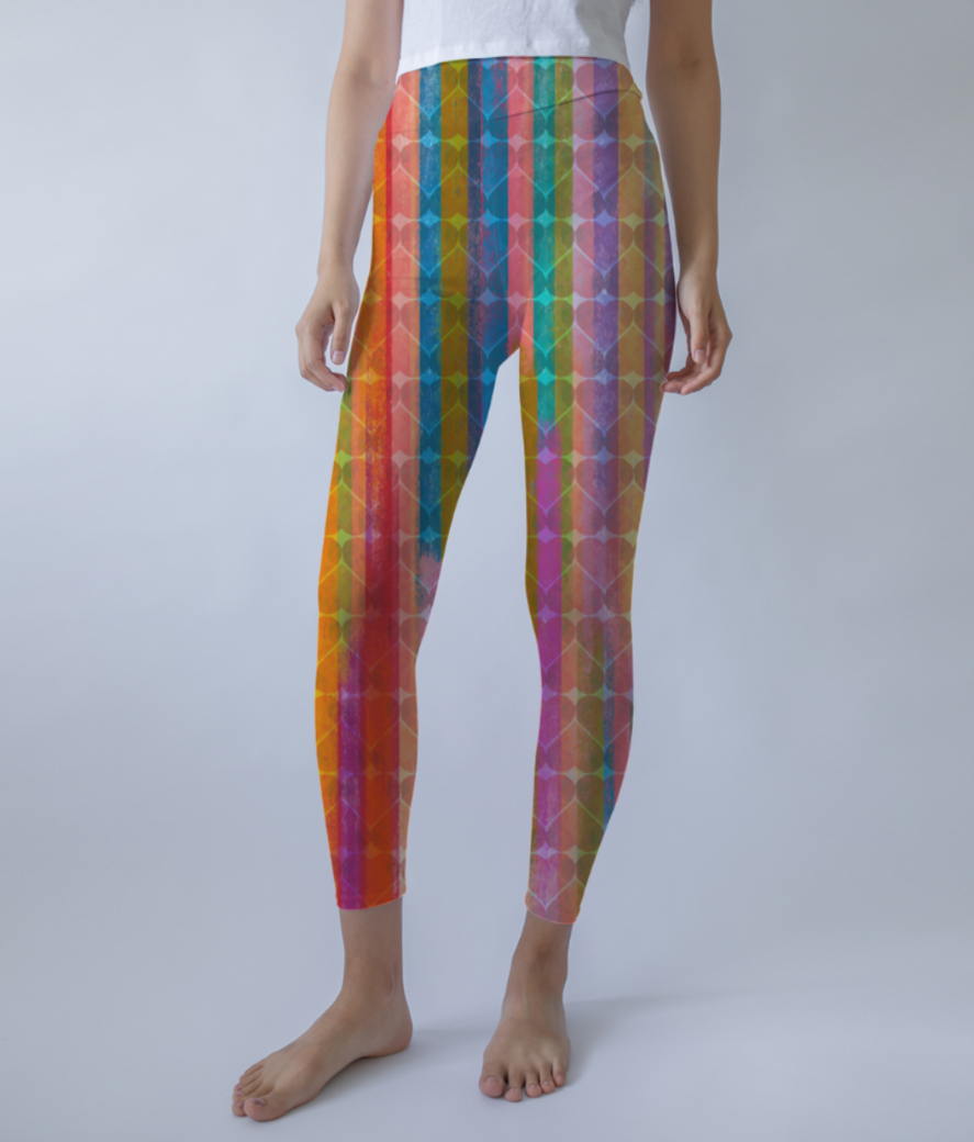 Choctaw leggings front
