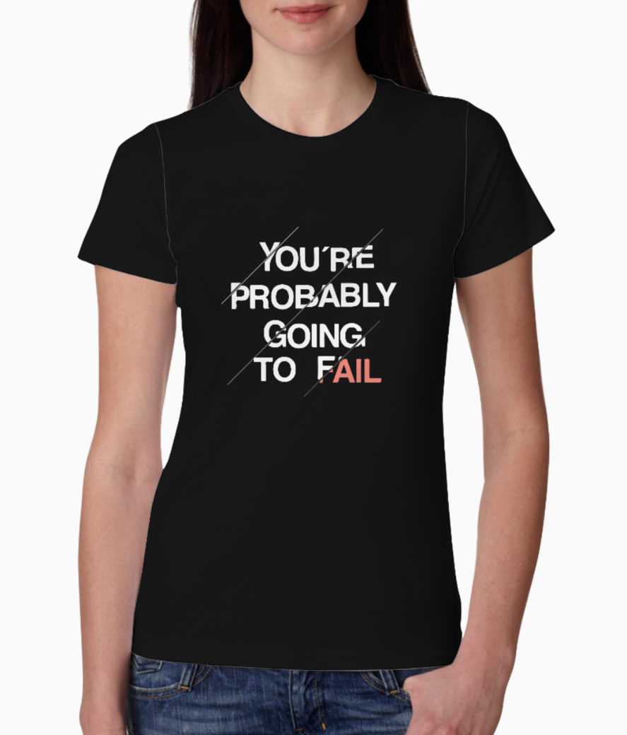 Probablyfail tee front