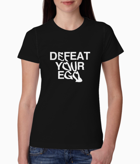 Defeat tee front