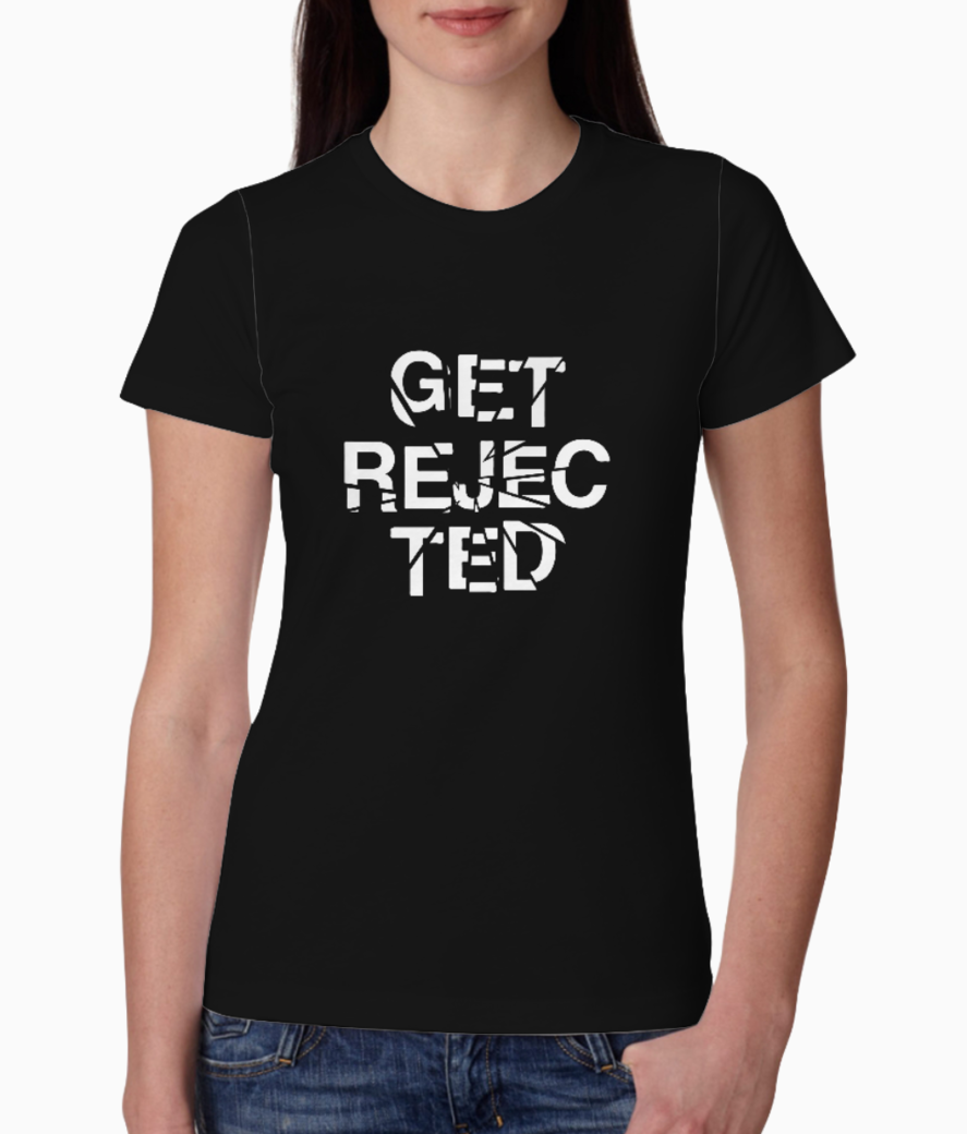 Get rejected tee front