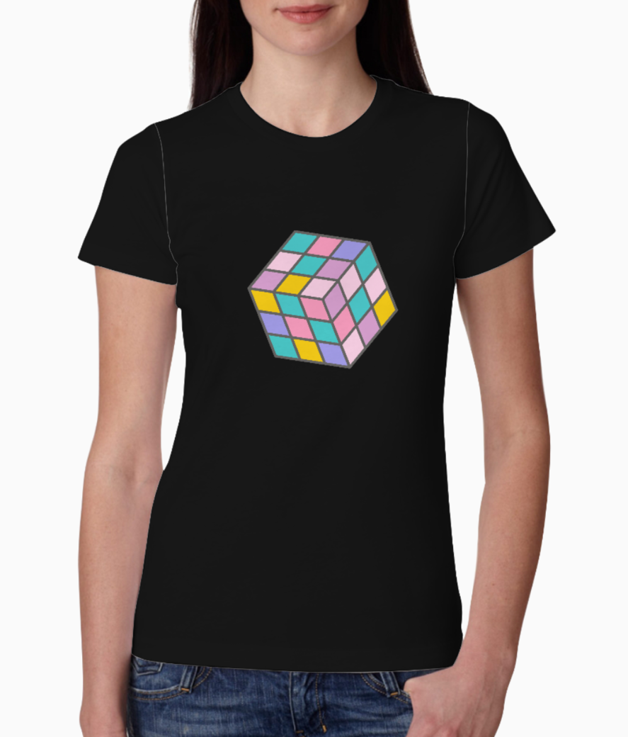 Cube tee front