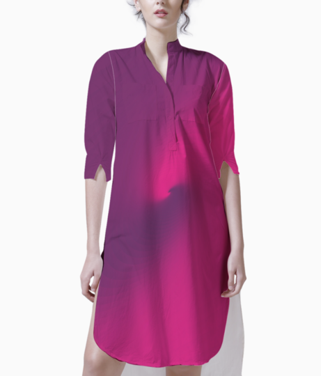 Abstract purple   blue background 01 kurti front