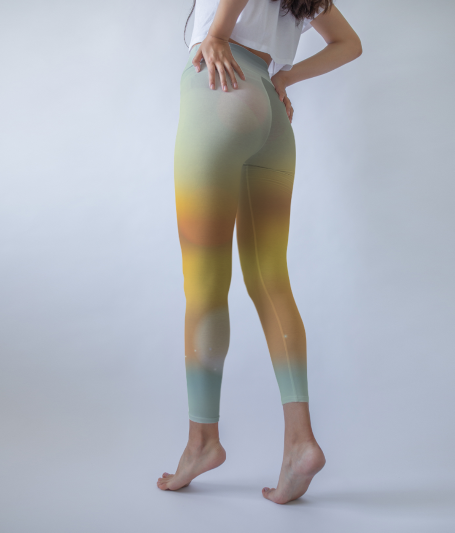 Sunset shades leggings back