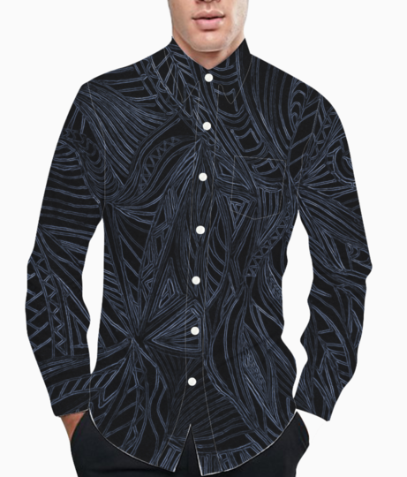 Ash lines basic shirt front