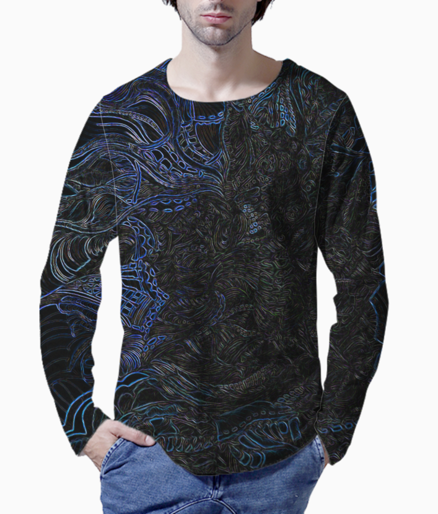 New blues henley front