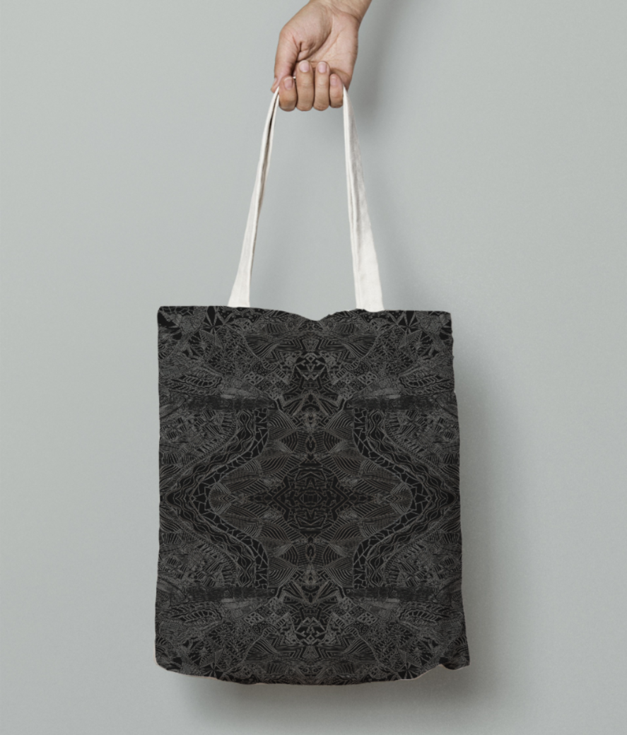 Dishdash tote bag front