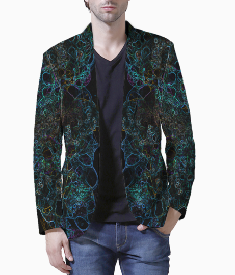 Bubble lungs blazer front