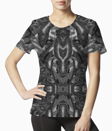 Abstract atribal a tee front